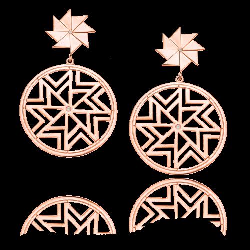 Boucles d'oreilles AEOLOS