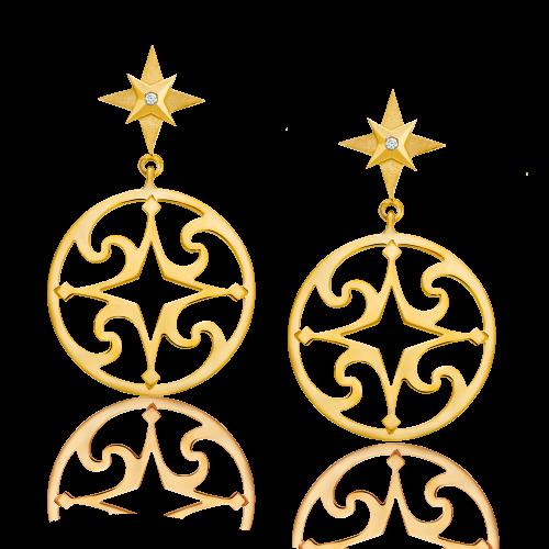Boucles d'oreilles CALYPSO