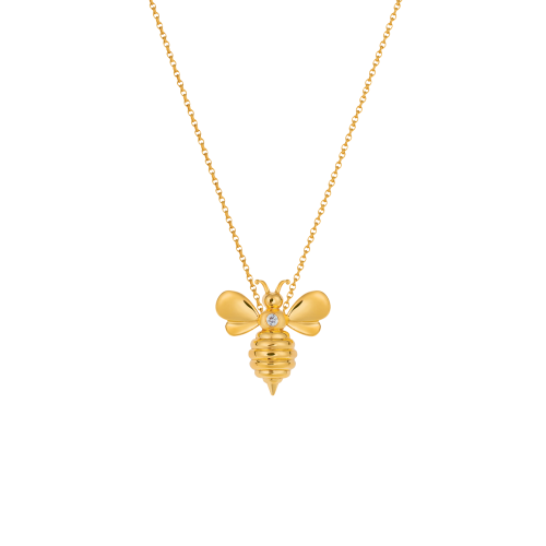 "Pendentif ""Bee my Honey"""
